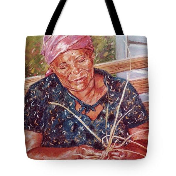 Thatching Tote Bag