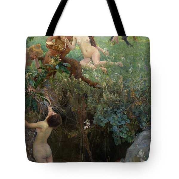 The Abyss, 1906 Tote Bag