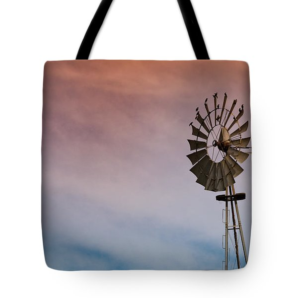 Tote Bag featuring the photograph The Aermotor Chicago Co. By Mike-hope by Michael Hope