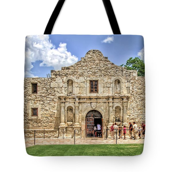 The Alamo, San Antonio Texas Tote Bag