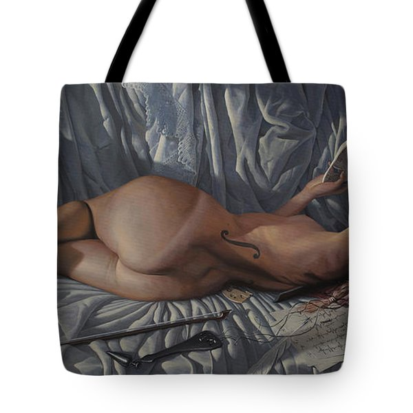 The Allegory Of Music Tote Bag
