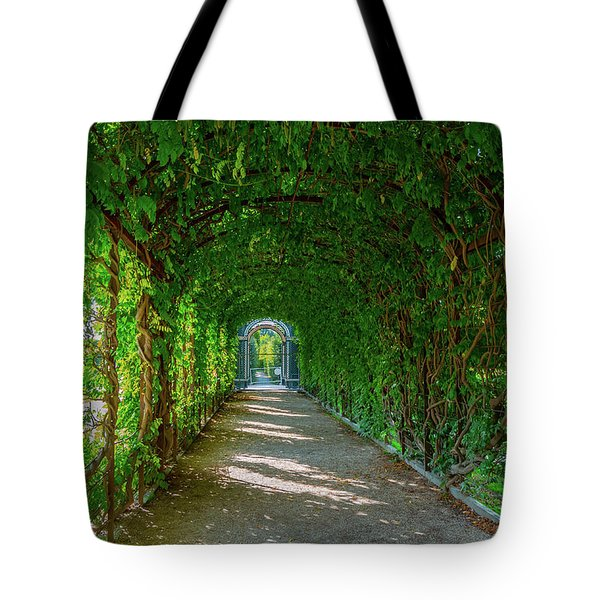 The Alley Of The Ivy Tote Bag