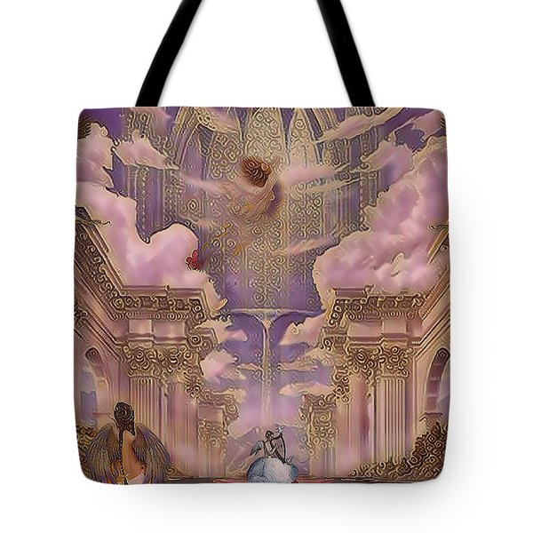 The Angels Palace Tote Bag