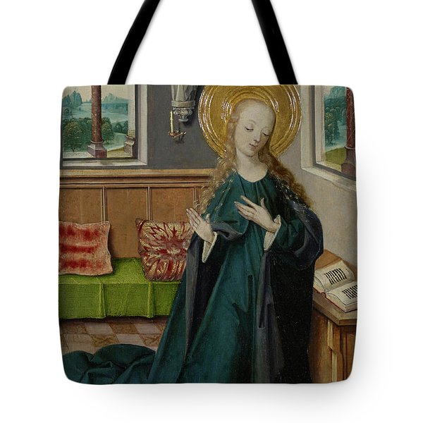 The Annunciation, 1490 Tote Bag