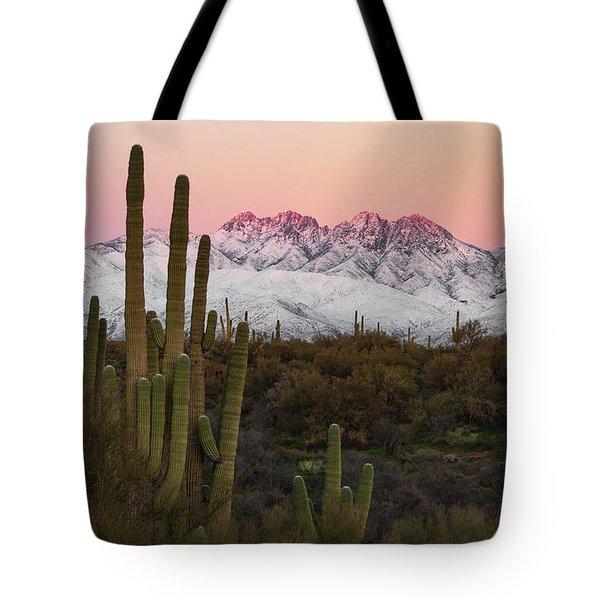 The Arizona Alps Tote Bag