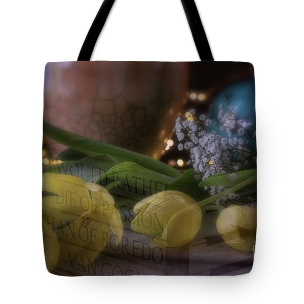 The Art Of Passion Tote Bag
