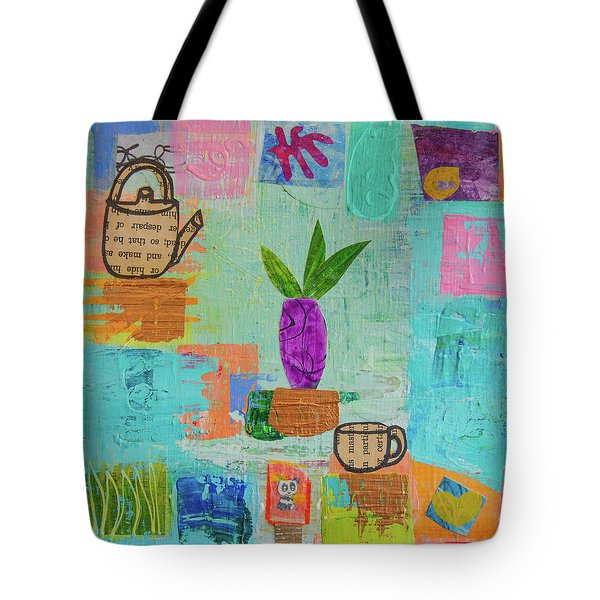 The Art Of Tea Two Tote Bag