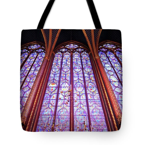 The Awe Of Sainte Chappelle Tote Bag