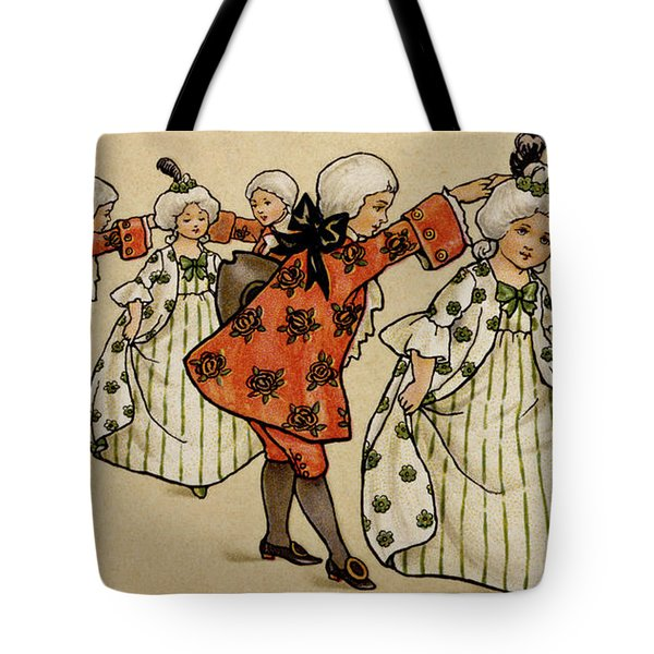 The Ball, Victorian Card Tote Bag