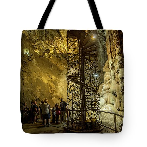 The Bat Cave Tote Bag