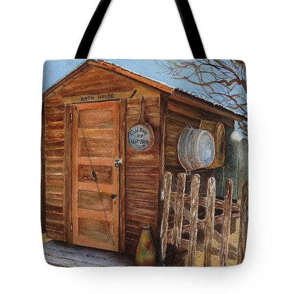 The Bath House Tote Bag
