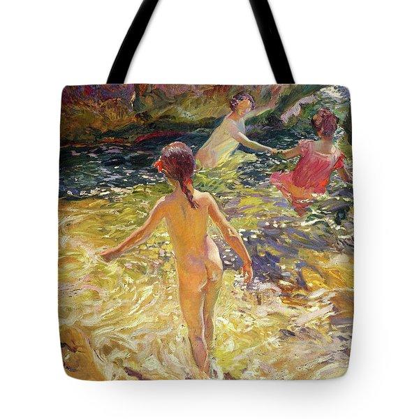 The Bath, Javea - Digital Remastered Edition Tote Bag