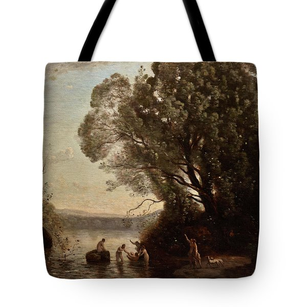 The Bath Of Diana Tote Bag