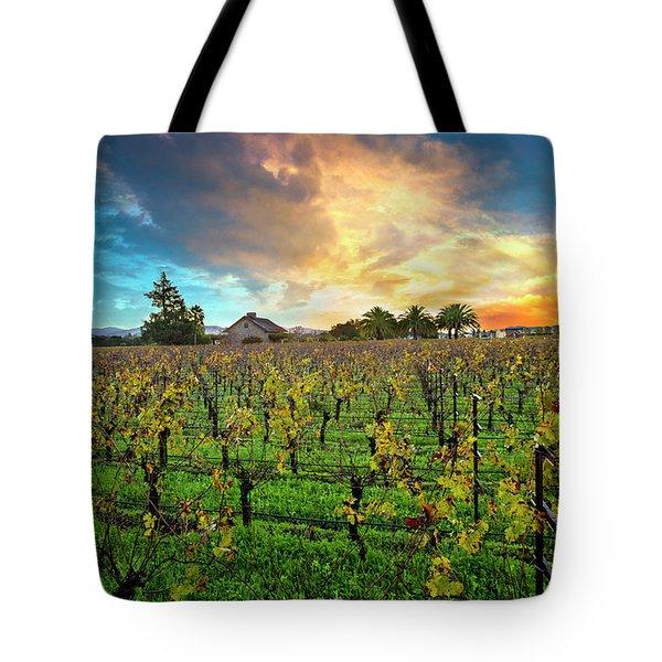 The Beauty Of Napa Tote Bag