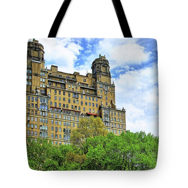 The Beresford, Central Park West, Manhattan, New York Tote Bag