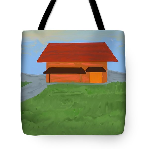 The Best Country Road Diner Tote Bag