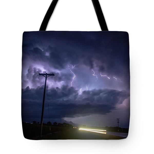 The Best Supercell Of The Summer 043 Tote Bag
