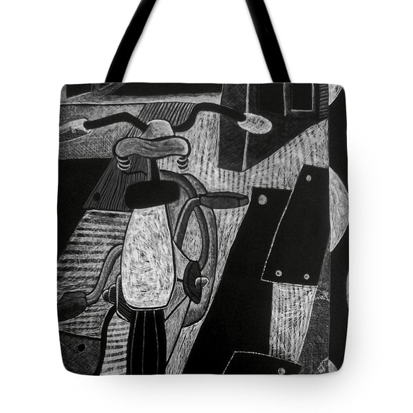 The Bicycle. Tote Bag