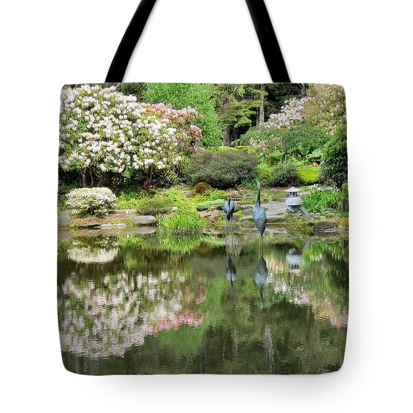 The Birds Of Shore Acres Tote Bag