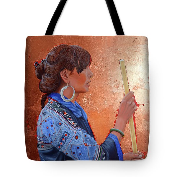 The Black Hmong Princess Tote Bag