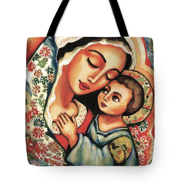 The Blessed Mother Tote Bag