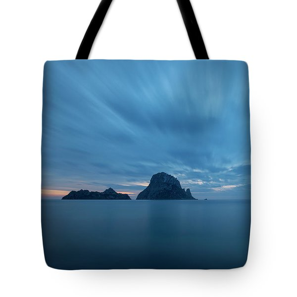 The Blue Hour In Es Vedra, Ibiza Tote Bag