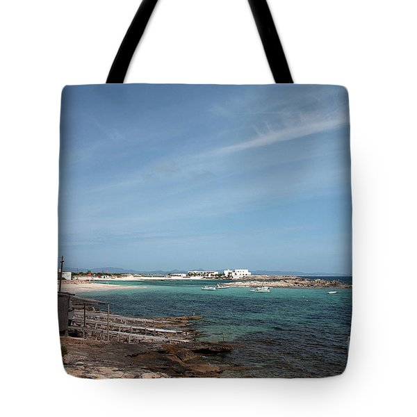 The Boat House And The Bay Tote Bag