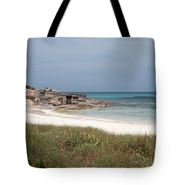 The Boathouse And The Beach Tote Bag