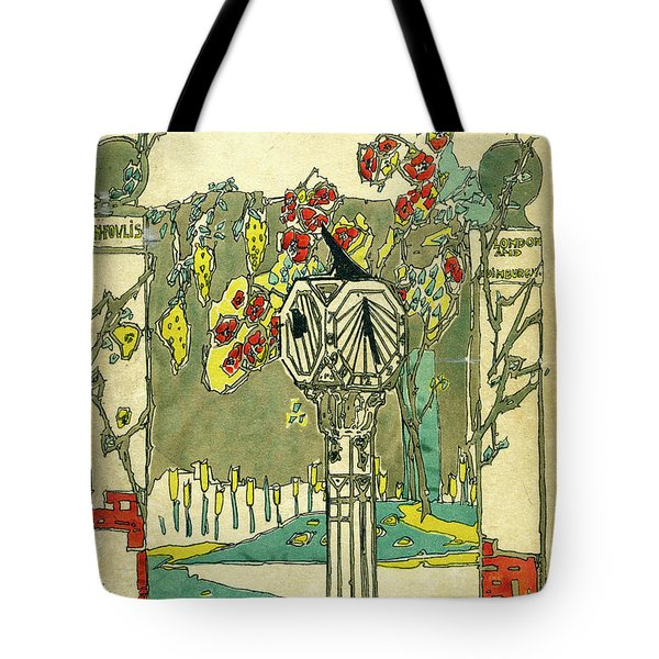 Cover Design For The Book Of Old Sundials Tote Bag