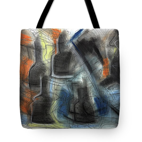 The Bottle Attacks Tote Bag