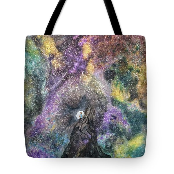 The Boy Who Followed The Moon  Tote Bag