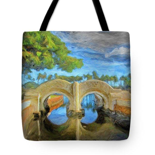 The Bridge At Ala Moana Park Tote Bag