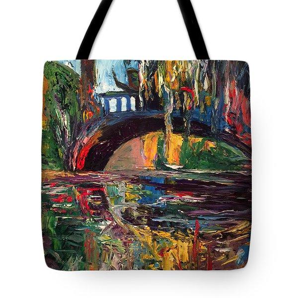 The Bridge At City Park New Orleans Tote Bag