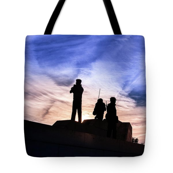 The Canadian Peacekeepers Tote Bag