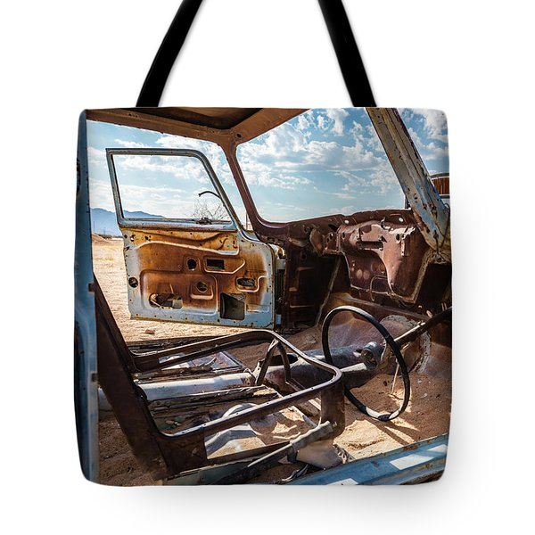 The Car Is Open, Please Come In Tote Bag