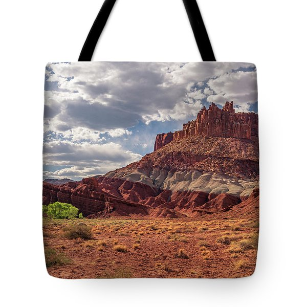 The Castle At Mummy Cliffs Tote Bag