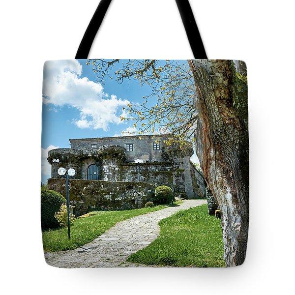 The Castle Of Villamarin Tote Bag