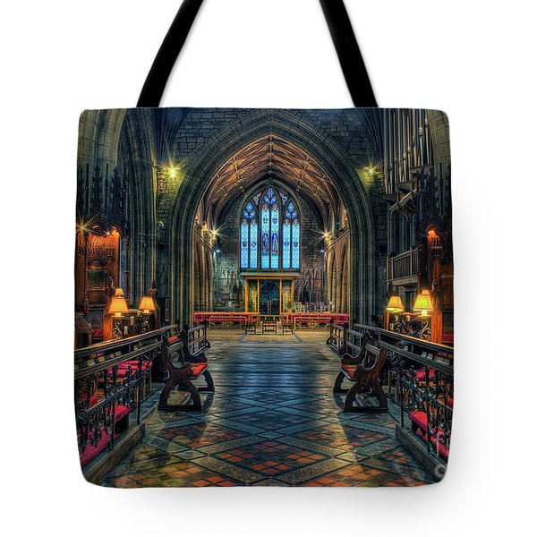 The Cathedral Church Of Saints Asaph And Cyndeym Tote Bag