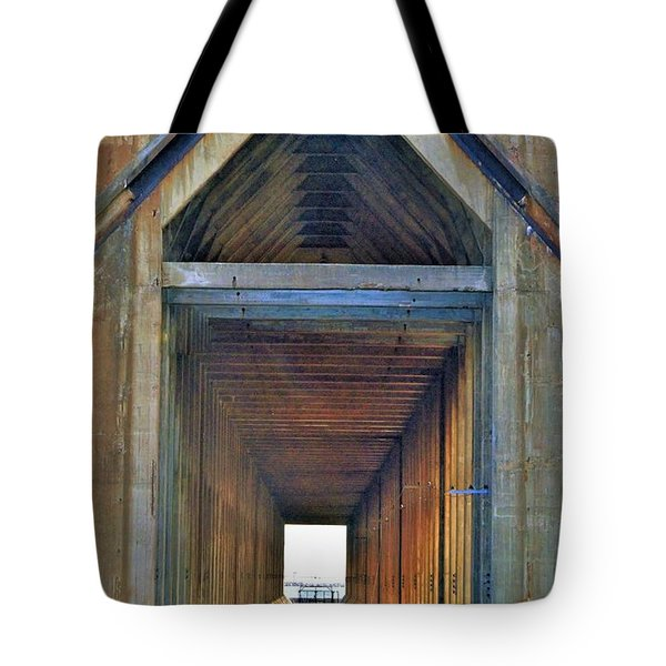 The Cathedral Ore Dock Of Marquette Tote Bag