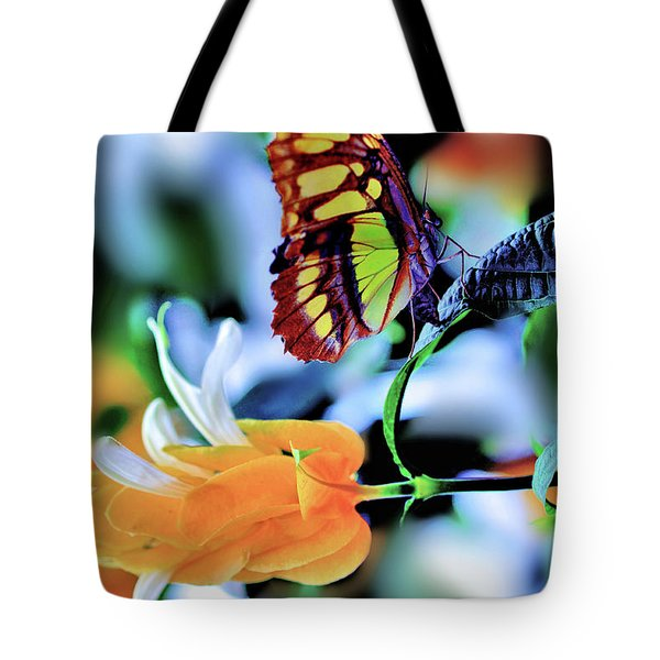 The Charm Of A Butterfly Tote Bag
