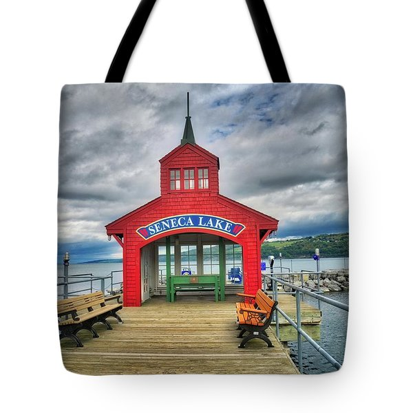 Tote Bag featuring the photograph The Charm Of Seneca Lake - Finger Lakes, New York by Lynn Bauer