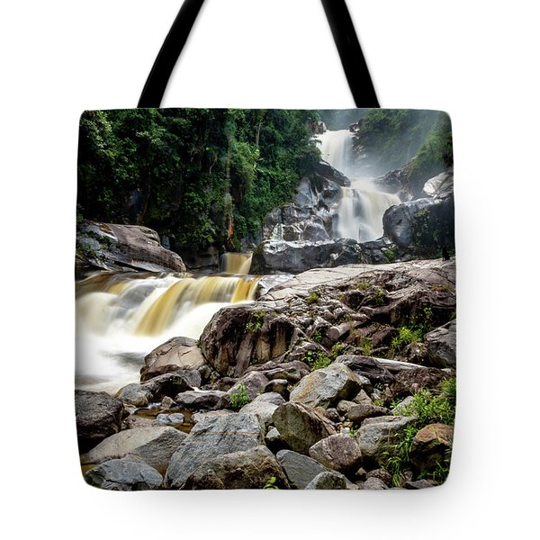 Tote Bag featuring the photograph The Chorros by Francisco Gomez