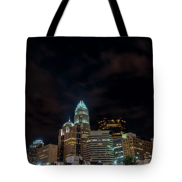 The City Lights Up Tote Bag