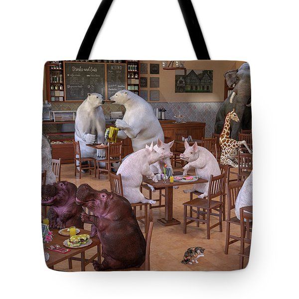 The Coffee Shop Tote Bag