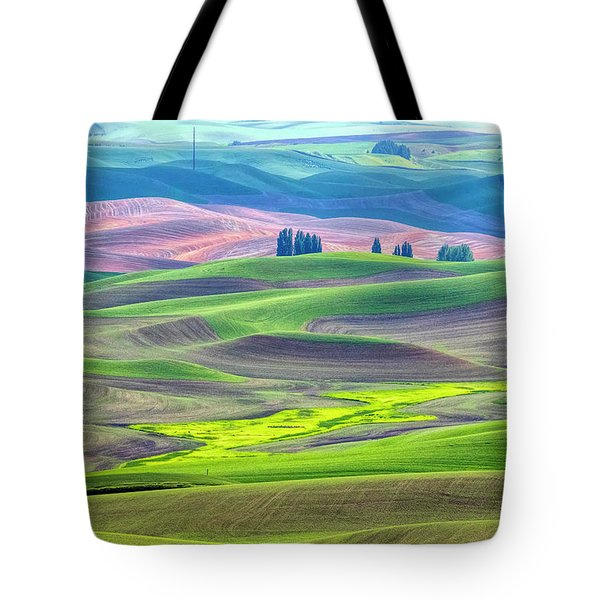 The Color Palette Of The Palouse Tote Bag