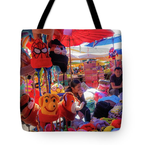 The Colours Of Childhood Tote Bag