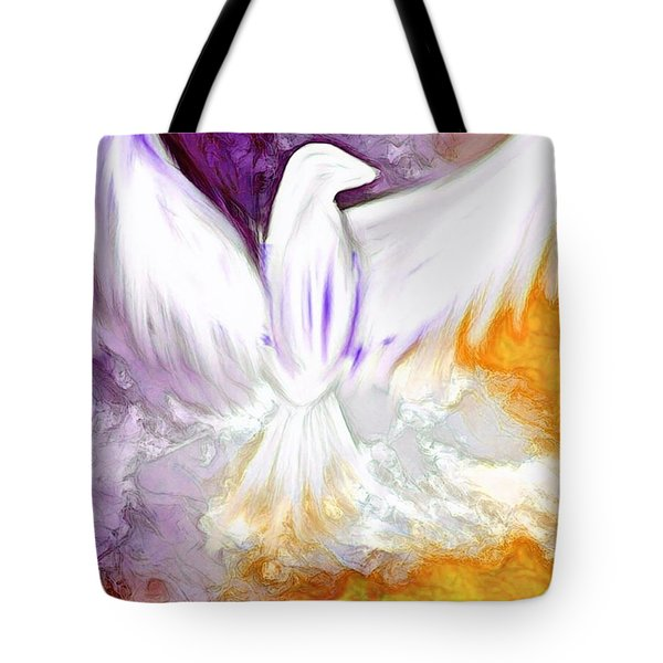 The Comforter Has Come Tote Bag