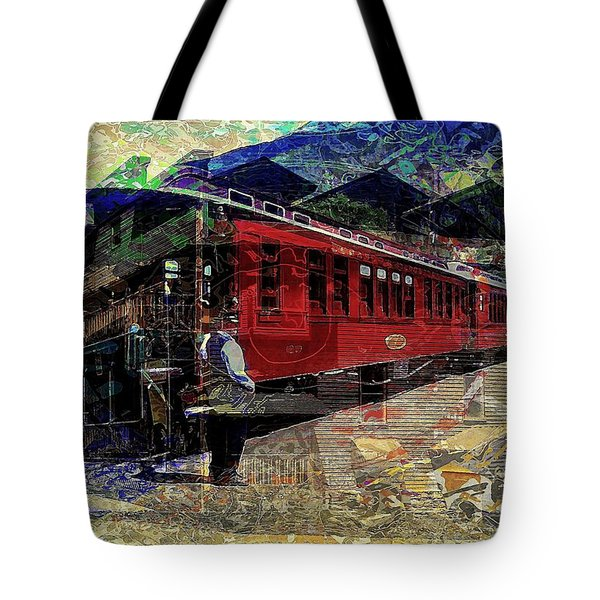 Tote Bag featuring the digital art The Conductor by David Manlove