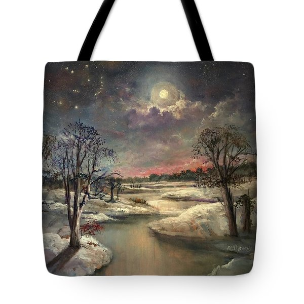 The Constellation Orion Tote Bag