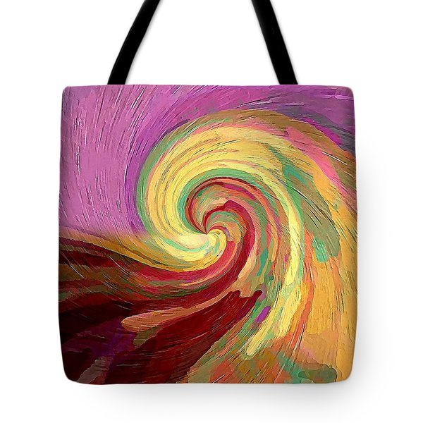 Tote Bag featuring the digital art The Consumption Of Fire by David Manlove